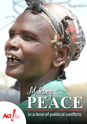 Making Peace in a time of political Conflicts