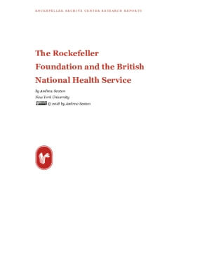 The Rockefeller Foundation and the British National Health Service