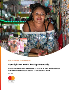 Youth Think Tank Report: Supporting Small-Scale Entrepreneurs