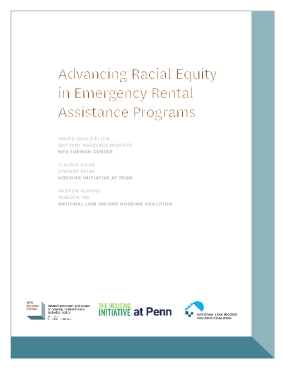 Advancing Racial Equity in Emergency Rental Assistance Programs