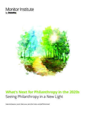 What's Next for Philanthropy in the 2020s